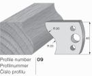 SP profilový nůž 09 Pilana