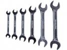 Klíče ploché, sada 6ks, 6x7, 8x9, 10x11, 12x13, 14x15, 16x17mm