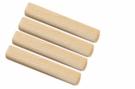 Spojovací nábytkový kolík dřevěný vroubkovaný  8 x 35 mm. Balení 50 ks