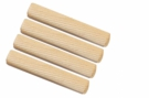Spojovací nábytkový kolík dřevěný vroubkovaný  8 x 40 mm. Balení 50 ks