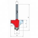 Stopková fréza zaoblovací vydutá s ložiskem R2 Freud - stopka 6 mm