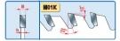Pilový kotouč Freud pro podélné řezání masivu s tenkým prořezem LU1F 0300 350 x 3,0 / 2,2 x 30 - 32 z