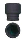 """Gola 3/4"""" průmyslová hlavice rozměr 38 mm"""