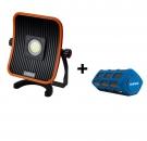FL LED 50 ACU Multifunkční reflektor s duálním systémem napájení + reproduktor BS-01
