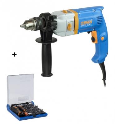 EVP 13 E-2H3 Vrtačka příklepová Narex 624029 + 73-Tool Box Micro