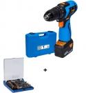 ASV 202-2 Narex Vrtací aku šroubovák 20V e-POWER  65405291 + 73-Tool Box Micro