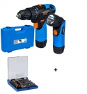 ASV 122-SET Kombinovaný aku šroubovák + svítilna 65405519 + 73-Tool Box Micro