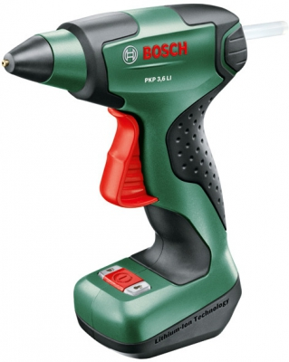 Akumulátorová lepící pistole Bosch hobby PKP 3,6 LI